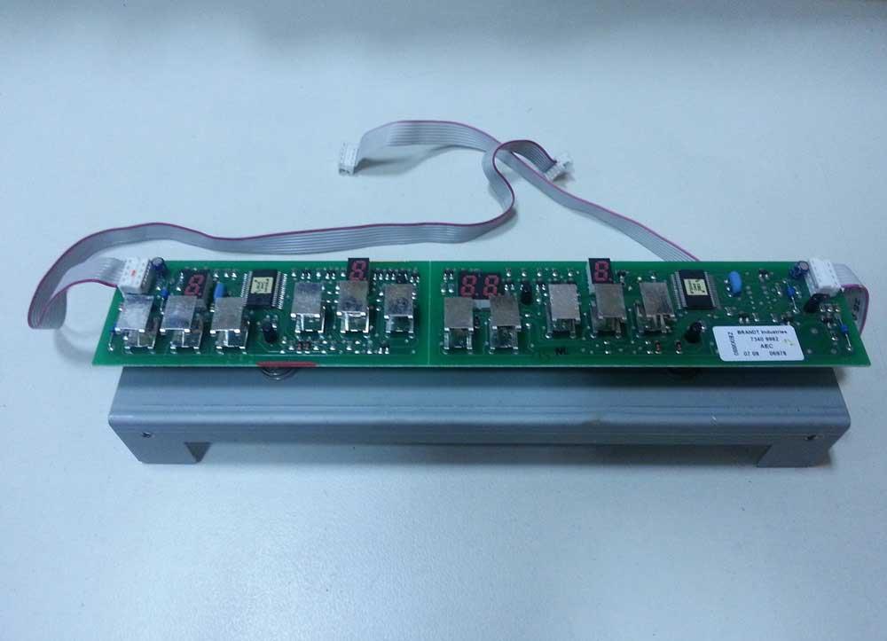 Placa de Control Inducción SMEG SPA 42016
