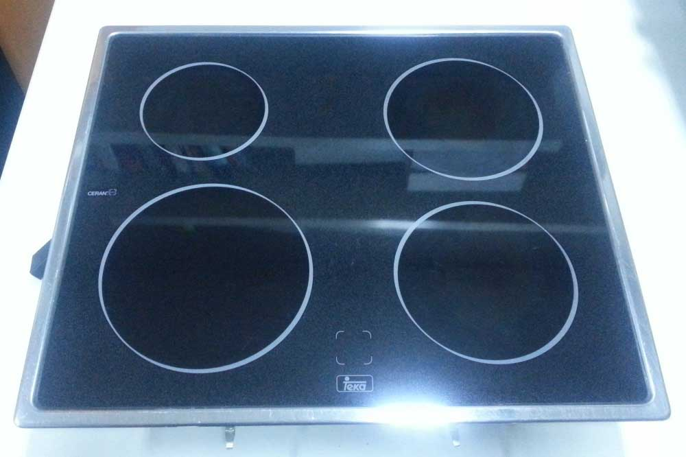 Cocina vitrocer mica teka vtcn 4 fuegos servicio t cnico - Cocina encimera teka 4 platos ...