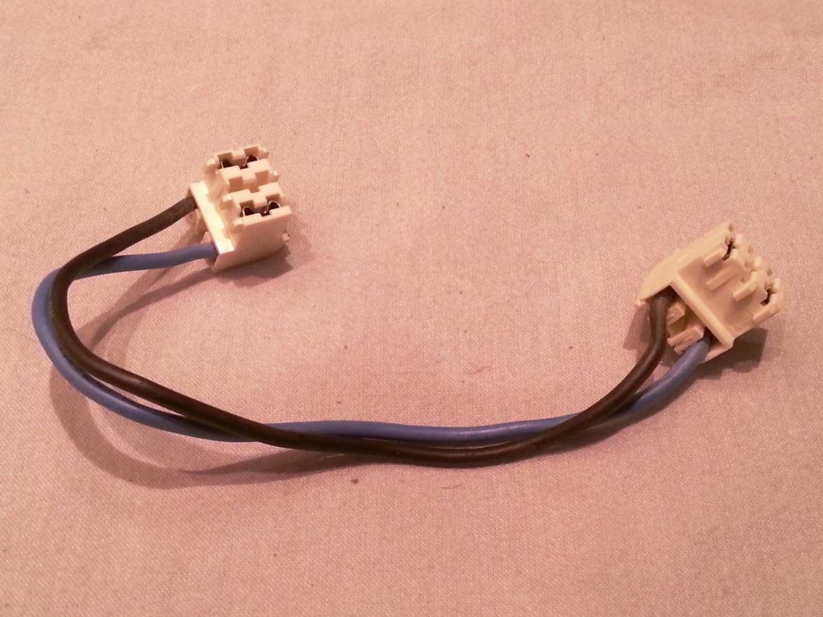 Cable Alimentación placa potencia inducción