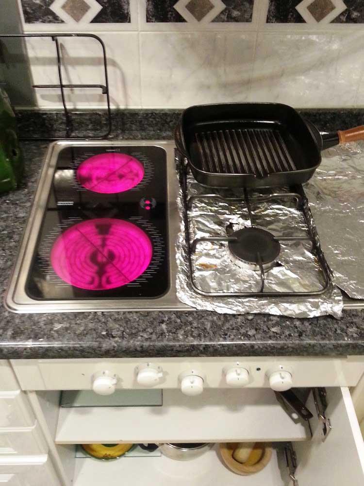 Cocina gas el ctrica franke cm 3g2vit no enciende un fuego for Cocina a gas y electrica