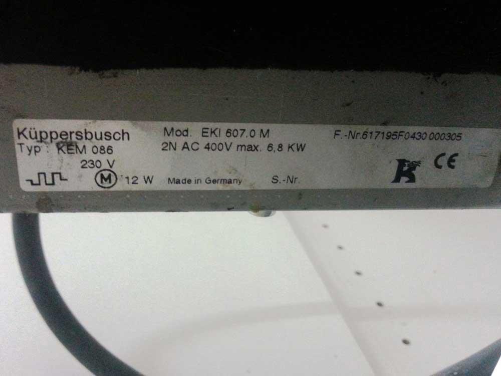 Kuppersbusch EKI 607.0 M